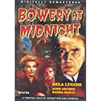 Bowery At Midnight [Slim Case]