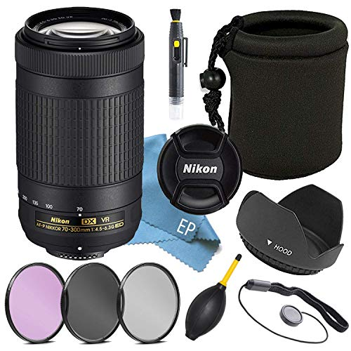 Nikon AF-P DX 70-300mm f/4.5-6.3G ED VR Lens (White Box)
