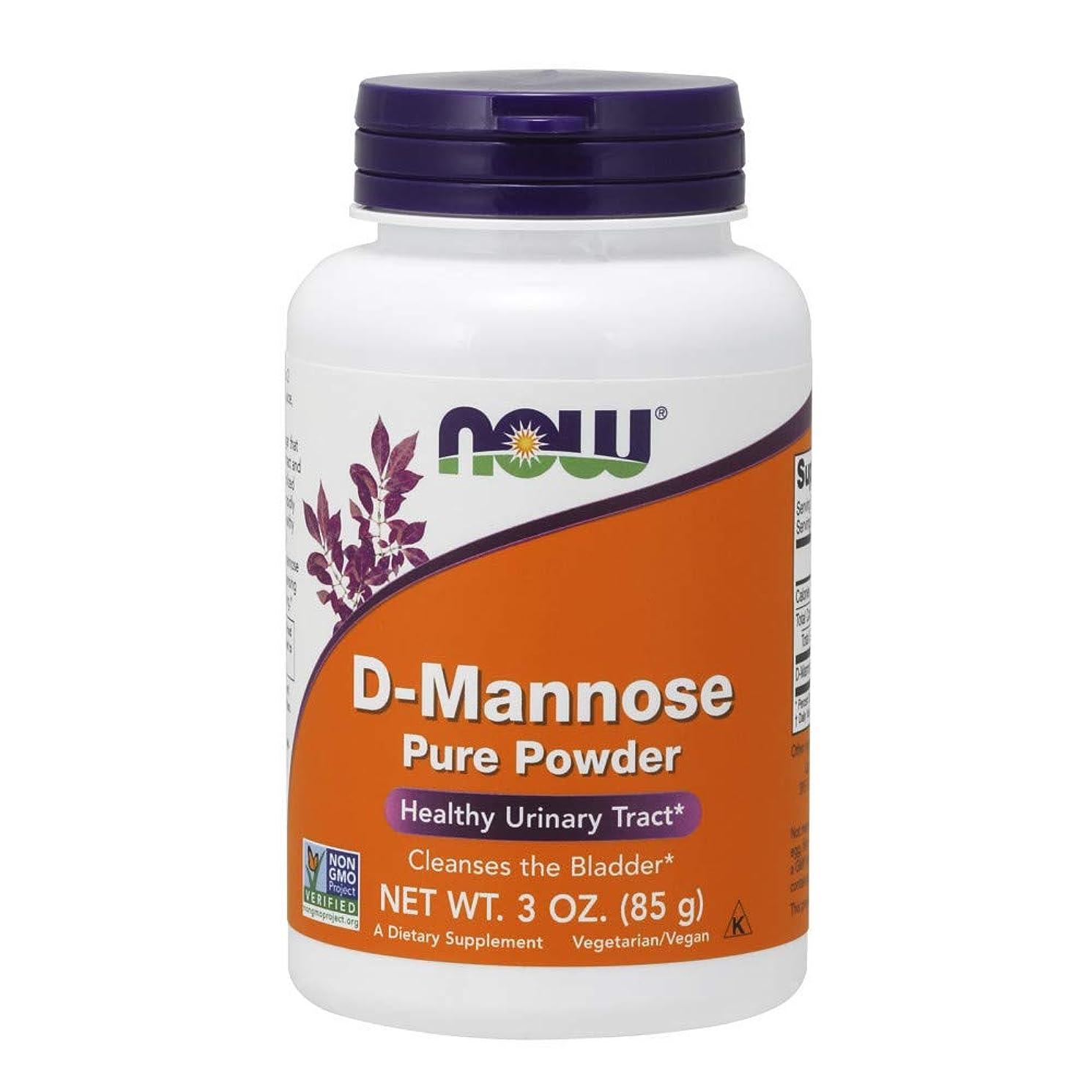 国大連鎖[海外直送品] ナウフーズ   D-Mannose Powder 3 OZ