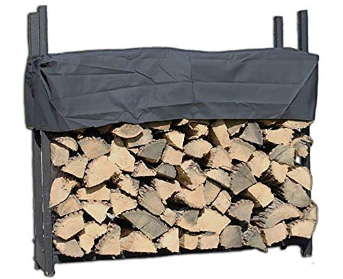 Pioneer 4' Firewood Rack with Cover