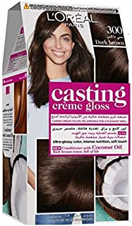 L'Oreal Paris Casting Crème Gloss 300 Dark Brown