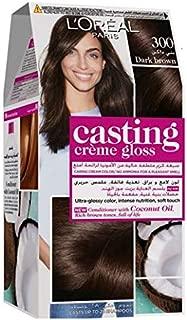 L'Oreal Paris Casting Creme Gloss - 300 Dark Brown