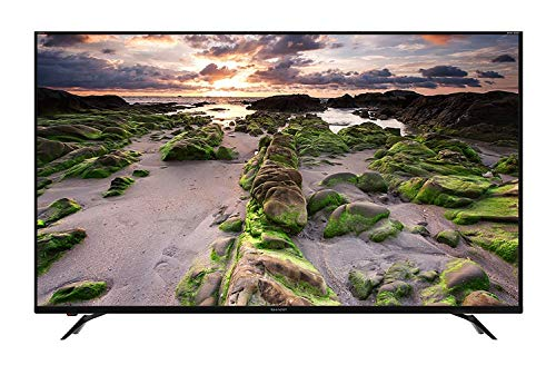 SHARP LC-70UI9362E 178 cm (70 Zoll) Fernseher (4K Ultra HD Smart E-LED TV, HDR+, Harman/Kardon Soundsystem, 3 HDMI Anschlüsse, Triple Tuner)