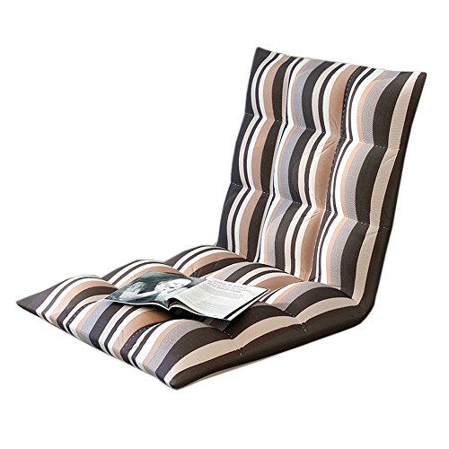 L-R-S-F Canapé paresseux, balcon lavable simple, baie vitrée, chaise décontractée, coussin en tissu pliant (Couleur : A-1)