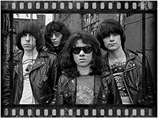 Stuff by Roman Ramones Wall Poster Art Print, Ramones Vintage Home Bedroom Decor, Ramones Themed Gift for Him Her (2535 in)