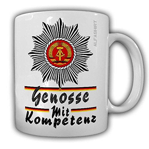 Tasse DDR Volkspolizei Schulterstücke Police Polizei Ostdeutschland Grenze#24181