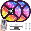 Muzey 32.8ft IP65 Waterproof Color Changing LED Strip Lights