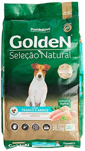Golden Seleção Natural Ração para Cães Adultos, Premier Pet, 10.1kg
