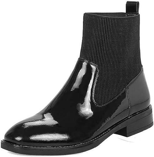 AdeeSu SXE04774, Sandales Compensées Compensées Femme - Noir - PU Noir, 36.5 EU  vente d'usine en ligne discount