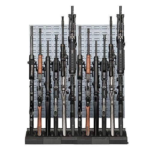 Secure It Gun Storage Gun Safe Kit: Steel 12 Safely Organize Your Gun Storage This with Easy to use Modular System, Protect Your Guns Investment from Scratches, Organize Your Safe