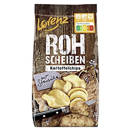Lorenz Snack World Rohscheiben Steinsalz, 10er Pack (10 x 120 g)