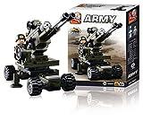 Sluban Bloques de Construccion Army Artillery