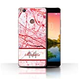 Stuff4 Personalised Custom Marble Case for ZTE Nubia Z11 /