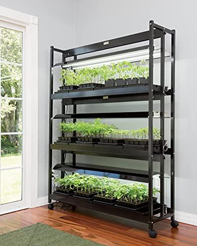 Gardener's Supply Company LED Grow Light Stand,...