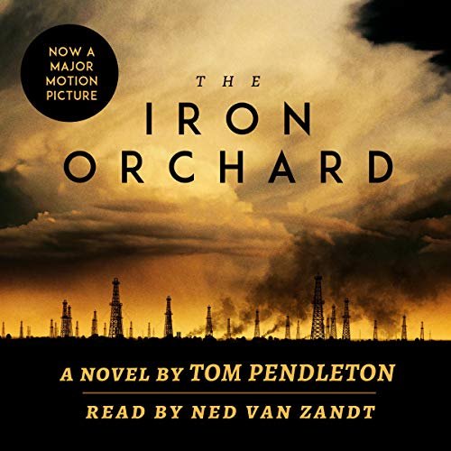 The Iron Orchard audiobook cover art