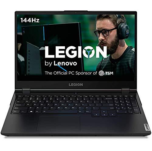 "Lenovo Legion 5 Gaming Laptop, 15.6"" FHD IPS 144HZ Screen, AMD Ryzen 7 4800H, Backlit KB, WiFi 6, Webcam, USB-C, HDMI, NVIDIA GTX 1660Ti, Windows 10 (16GB RAM | 512GB PCIe SSD)"