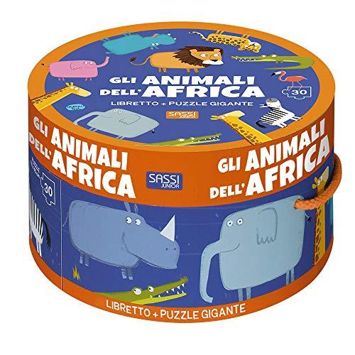 Gli animali dell'Africa. Ediz. illustrata. Con puzzle