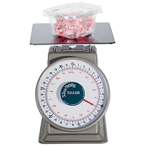 Taylor THD32D Heavy-Duty 32 Ounce x 1/8 Ounce Mechanical Scale