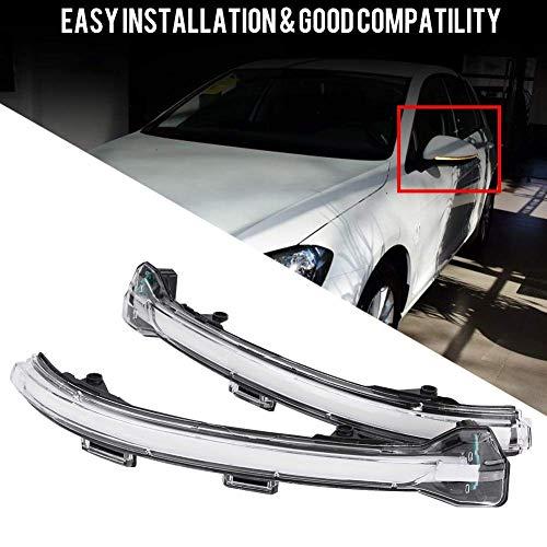 Feux Clignotants LED – 1 Paire de Feux de rétroviseur, Clignotants latéraux pour Volkswagen Golf 7.