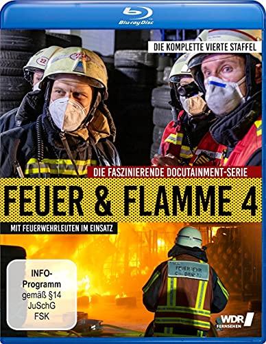 Feuer und Flamme - Mit Feuerwehrmännern im Einsatz - Staffel 4 [Blu-ray]