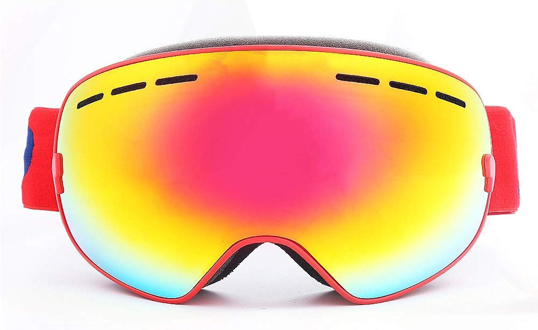 CARWORD Skibrille Verspiegelte Anti-Glare Weitsichtigkeit Objektiv für Männer Frauen Jugend Skifahren Snowmobile Eyewear & Helm kompatibel B07M9KQY4R  Heißer Verkauf