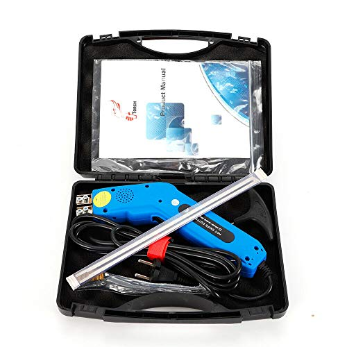 DiLiBee Elektrische schuimsnijgereedschap, 250 watt, warmte, warm mes, piepschuim, snijgereedschap + draagtas