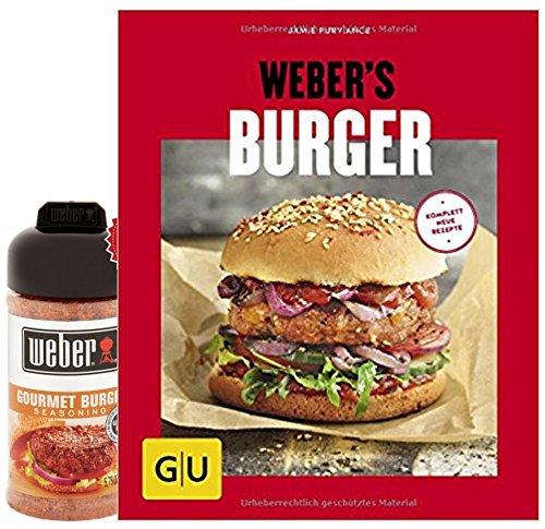 Weber Weber 's Burger (GU s Grillen) Burger fresca de la parrilla Gourmet Burger Gewürzmischung 164 g