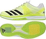 adidas Counterblast W, Chaussures de Handball Femme, Multicolore-Jaune/Noir/Blanc (Amahie/Neguti/Ftwbla), 39 1/3 EU