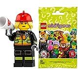 レゴ (LEGO) ミニフィギュア シリーズ19 消防士【71025-8】