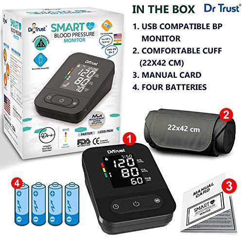 Dr Trust Smart Dual Talking Digital Blood Pressure Machine