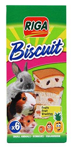 Riga Biscuits aux Fruits pour Rongeur - 6 unites (Lot...