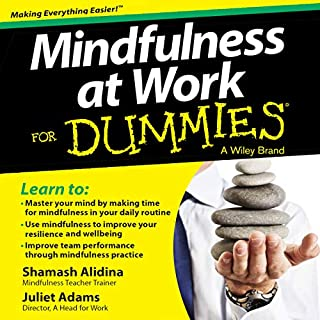 Mindfulness at Work for Dummies cover art