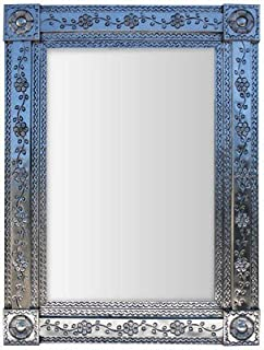 Fine Crafts Imports Royal Silver Tin Mirror