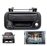 WonVon Backup Camera Tailgate Camera,Car Rear View Camera Backup Tailgate Handle Camera for Ford F150/F250/F350/F450/F550