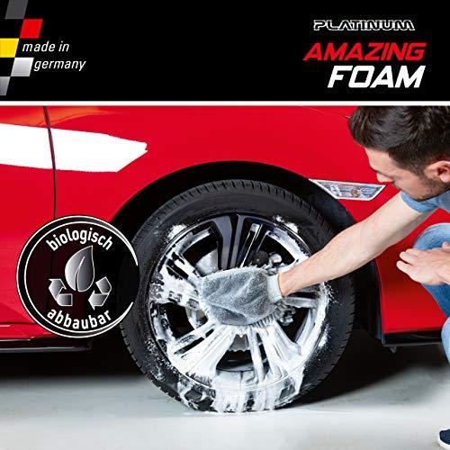 Mediashop Platinum Amazing Foam Set – Autoreiniger und Autopflege – entfernt hartnäckigen Schmutz und sorgt für Glanz – auch als Cockpit Reiniger – für alle Oberflächen - 4