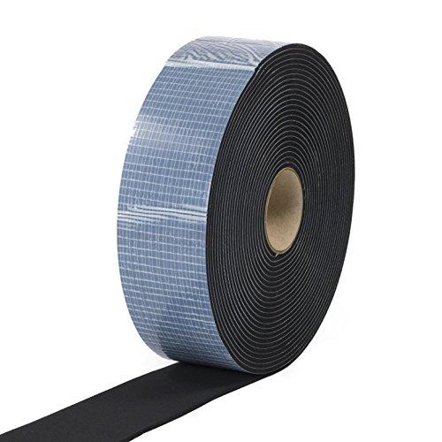 EPDM Zellkautschuk 20mmx2mm einseitig selbstklebend schwarz 10m Rolle