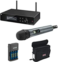 Sennheiser XSW 2-835-A Wireless Handheld Mic System with e835 Capsule, Wireless Mobile Pack & Charger (4x AA Batteries) Bundle