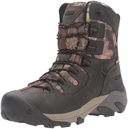 KEEN Utility Men's Detroit 8' Soft Toe Work Boot, Black...