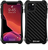 R-JUST Case for iPhone 11 Pro Max-6.5'' Extreme Aluminum Premium Shockproof/Dustproof/Water-Resistant Cell Phone Casing Cover Protection System (Black, iPhone 11 Pro Max)