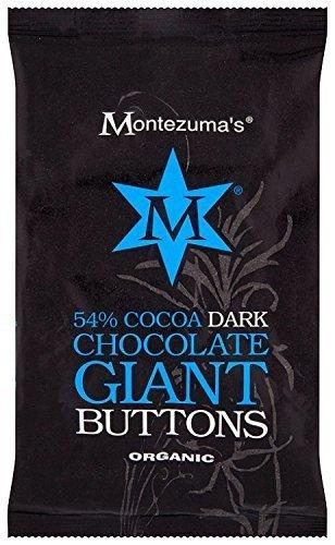 Montezuma Organic 54 Dark Chocolate Giant Button Bag 180 g by Montezumas Chocolate