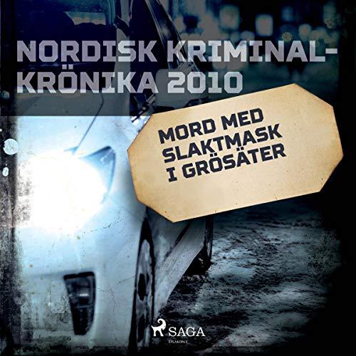 Mord med slaktmask i Grösäter audiobook cover art
