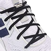 Aiboxin Elastic No Tie Shoelaces, With Stainless steel Screw Shoe Laces Lock - One Size Fits All Kids & Adult