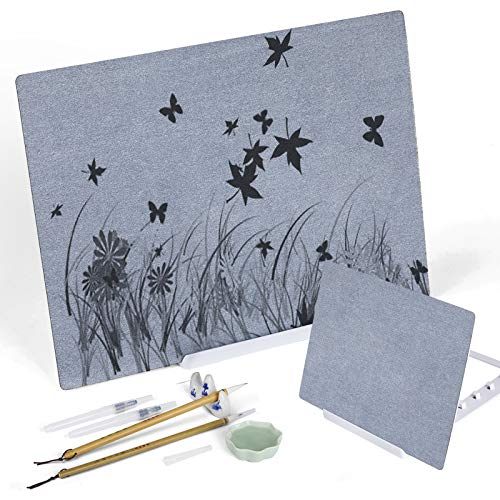 Water Drawing Board 2 Pack Zen Artist Board Water Painting Set with...