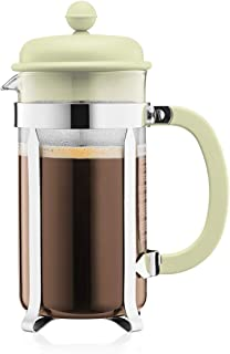Bodum Caffettiera French Press Coffee and Tea Maker, 34 Oz, Light Green