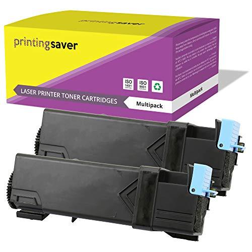 PRINTING SAVER 2 Schwarz Premium Toner kompatibel zu 106R01597 für Xerox Phaser 6500 6500DN 6500N WorkCentre 6505 6505DN 6505N