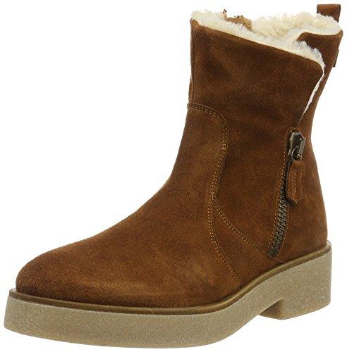 Bronx Damen BlalouX Biker Boots, Braun (21 Mid Brown), 38 EU