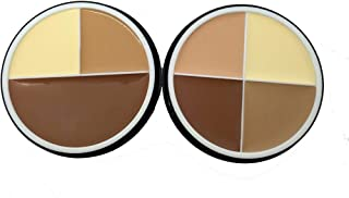 M.n Cosmetics 3 Colors contouring palette set of 2 pcs