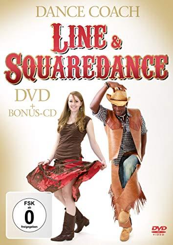 Dance Coach - Line- & Squaredance (+ Audio-CD) [2 DVDs]