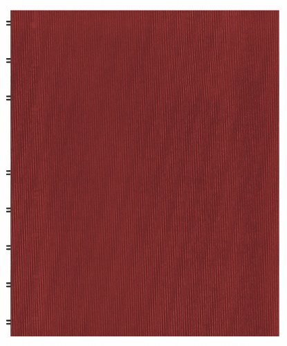 Blueline MiracleBind Notebook, Red, 11 x 9.625 inches, 150 Pages (AF11150.83)