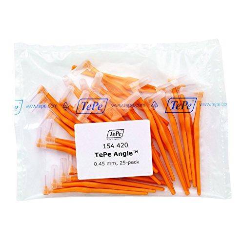 TePe Interdentalbürsten Angle ORANGE 0.45, 25 Stück